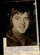 PHOTO - Photo De Presse - Chanteur - STEPHANE REGGIANI - 1971 - Célébrités
