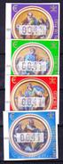 VATICAN DISTRIBUTEURS 2002 YT N° D 11 à 14 ** - Marcophilie - EMA (Empreintes Machines)