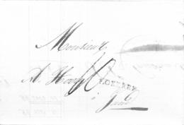 Complete Brief Lokeren - Gent 8 Januari 1827 (Herlant 27) - 1815-1830 (Période Hollandaise)