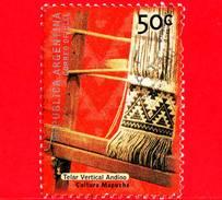 ARGENTINA - Usato -  2000 - Manufatti Archeologici - Cultura Mapuche - Telaio - Telar Vertical Andino - 50 C - Argentina