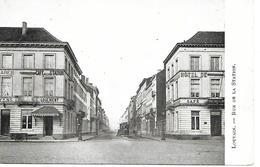 CPA / AK / PK -  LOUVAIN Rue De La Station ( Hotel , Café , Tramway ) - Leuven