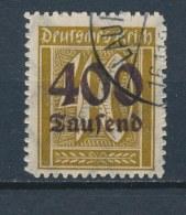 Duitse Rijk/German Empire/Empire Allemand/Deutsche Reich 1923 Mi: 300 Yt: 288 (Gebr/used/obl/o)(2235) - Duitsland