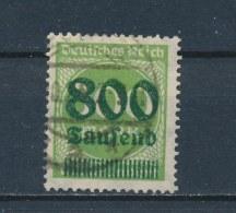 Duitse Rijk/German Empire/Empire Allemand/Deutsche Reich 1923 Mi: 304A Yt: 276 (Gebr/used/obl/o)(2237) - Duitsland