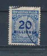 Duitse Rijk/German Empire/Empire Allemand/Deutsche Reich 1923 Mi: 319A Yt: 300 (Gebr/used/obl/o)(2241) - Duitsland