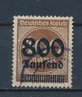 Duitse Rijk/German Empire/Empire Allemand/Deutsche Reich 1923 Mi: 305A Yt: 278 (Gebr/used/obl/o)(2238) - Duitsland