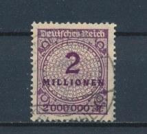Duitse Rijk/German Empire/Empire Allemand/Deutsche Reich 1923 Mi: 315A Yt: 296 (Gebr/used/obl/o)(2239) - Duitsland