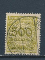 Duitse Rijk/German Empire/Empire Allemand/Deutsche Reich 1923 Mi: 324AW Yt: 305 (Gebr/used/obl/o)(2244) - Duitsland