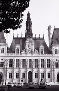 1963 HOTEL DE VILLE PARIS FRANCE 35mm AMATEUR NEGATIVE NOT PHOTO NEGATIVO NO FOTO - Other
