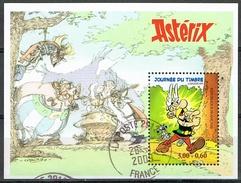 France 1999 Asterix Journée Di Timbre Miniature Sheet Used - Francia