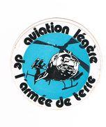Autocollant, Stickers - Armée De Terre, Aviation Légère.      (Bt N°1) - Autocollants