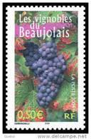 France N° 3648 ** Le Vignoble Du Beaujolais De La France à Vivre N° 3 - Vigne, Raisin - Francia