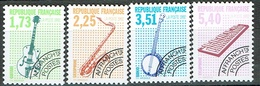 France Préoblitérés 1992 Musical Instruments Mint Set - Preobliterados