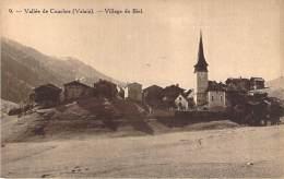 Suisse - Vallée De Conches - Village De Biel - Compagnie Suisse Du Chemin De Fer De La Furka, Ouverture En 1914 - VS Valais