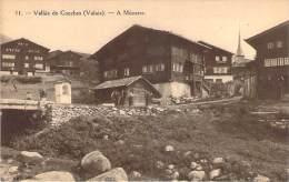 Suisse - Vallée De Conches - A Münster - Compagnie Suisse Du Chemin De Fer De La Furka, Ouverture En 1914 - VS Valais