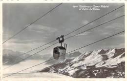 Suisse - Téléférique Crans-Bellalui Et Vallée Du Rhône (cad Touristique Type Flamme Morgins) - VS Valais