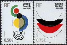 France N° 3657 Et 3658 ** Entente Cordiale - Unused Stamps
