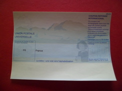 Entier Coupon-Réponse International UPU FR Type CN01 Valable Jusqu'au 31/12/2006 Neuf TB - Coupons-réponse
