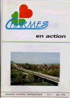 88 CHARMES EN ACTION MAGAZINE MUNICIPAL N°4 MAI 1994 - Other