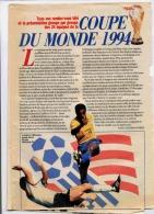 COUPE DU MONDE 1994 PRESENTATION GROUPE PAR GROUPE DES 24 EQUIPES - Sport