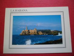 Carte Postale Edit.Caribbean Overseas Trade Imp. Italie N°050 La Habana Castillo De Los Tres Reyes Del Moro Neuve TB - Kuba