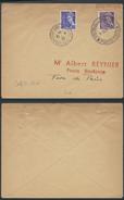 MEL280 Lettre De Paris Pour La Ville 1942 Parc Des Expositions - 1938-42 Mercure