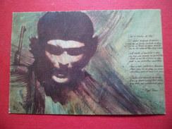 "Carte Postale Casa Editora Abril-Bisart Serie ""Homenaje Al Che"" Orlando Hernandez Yanez  Neuve TB - Kuba"