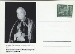 Kardinal Gustavo Testa.Päpstlicher Legat Zum - Eucharistischen Weltkongreß München 1960. Germany. # 05924 - Christianity