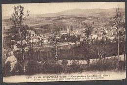 Le Malzieu-Ville - Vue Générale Sud-Est - N° 6293 - Voir 2 Scans - Autres Communes