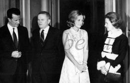 Post Card / ROYALTY / Belgique / Fabiola De Mora Y Aragon / Roi Baudouin / Koning Boudewijn / Frank Borman / 1969 - Autres Célébrités