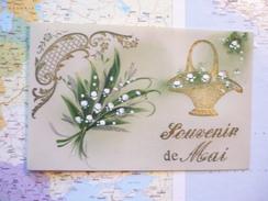 Souvenir De Mai Carte Celluloïd - Cartoline