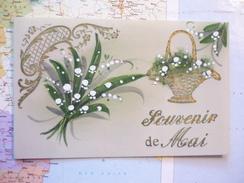 Souvenir De Mai Carte Celluloïd - Cartes Postales