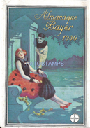 71454 ARGENTINA REVISTA ALMANAQUE CALENDARY BAYER PUBLICITY AÑO 1930 14.5 X 21 CM NO POSTAL POSTCARD - Kalender