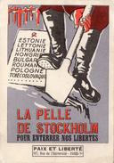 Cpa : Illustrateur MICHAT La Pelle De Stockholm Pour Enterrer Nos Libertes - Illustrateurs & Photographes