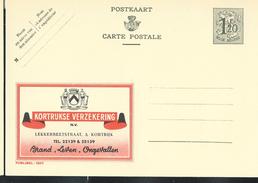 Publibel Neuve N° 1207 ( Kortijkse Verzekering; Assurances) - Enteros Postales