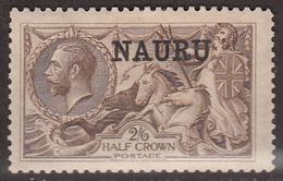 Nauru 1916 Wilkinson Printing, Mint Mounted, See Notes, Sc# ,SG 25 - Nauru