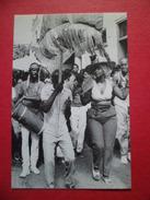 Carte Postale Fotopostale Caribe Photo G.Lobartolo 26bis Festival De La Cultura Caribena -1992 Santigo De Cuba  Neuve TB - Tänze