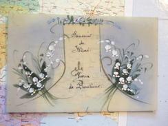 Souvenir De Mai Voeux De Bonheur Carte Celluloïd - Postcards