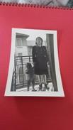 Photo 6X9 Femme En Uniforme - Persone Anonimi