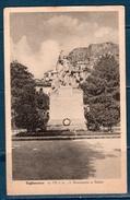 TAGLIACOZZO  Cartolina Monumento Ai Caduti Viaggiata - L'Aquila