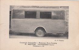 PANISSIERES (42) Carrosseries Industrielles - Remorque Auto Camping Caravane - F. Notin - France