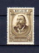 1934  Peter Benoit, 385**, Cote 17,50 €, - Bélgica