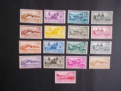 AFRICA OCCIDENTAL, Españolla. Año: 1950 ( Paisajes Y General Franco ). Correos Ordinario, D. 12-3/4. - Stamps