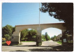 15685-LE-84-PERTUIS-Entrée Du Camping Municipal