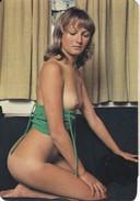 CALENDARIO DEL AÑO 1977 DE UNA CHICA SEXI (NUDE-DESNUDO) (CALENDRIER-CALENDAR) - Calendarios