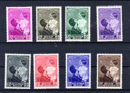1937  Reine Astrid Et Le Prince Baudoin, 447 / 454**, Cote 45 €, - Belgique