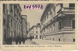Marche-ascoli Piceno Palazzo Della Cassa Di Risparmio Veduta Animata - Ascoli Piceno