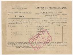 LA UNION Et Le PHENIX ESPAGNOL. PARIS 1932. NEUF Et Non Affranchi. - Non Classés