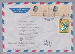Motiv Botschaft/Konsulat Haiti 1964-05-20 Airmail Nach Mexico (Botschaft) - Haïti