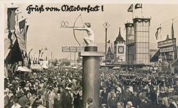 AK München, Gruß Vom Oktoberfest - München