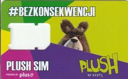 Poland - Plush - GSM SIM (frame)